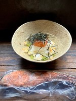 鮭の藁燻し焼き