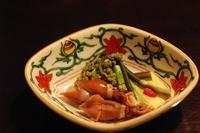 蛍烏賊と山菜の黄味酢掛け.jpg